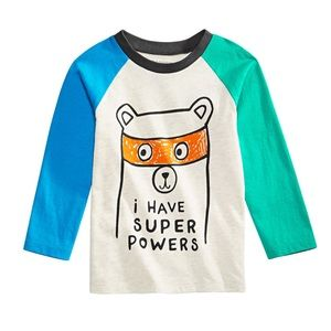 NWT First Impressions Super Powers Shirt Top 18mo